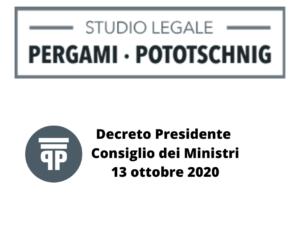 Decreto Presidente Consiglio dei Ministri
