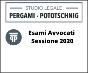 Esami Avvocati sessione 2020