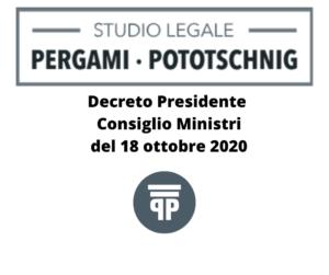 DPCM_18_ottobre_2020