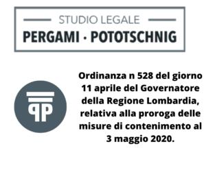 ordinanza 528