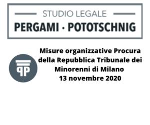 Procura della Repubblica Tribunale dei Minorenni di Milano